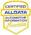 AllData certified