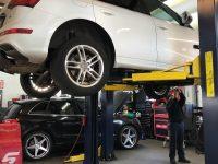 Audi Q5 Brake Service