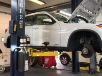 All brakes service on BMW X1